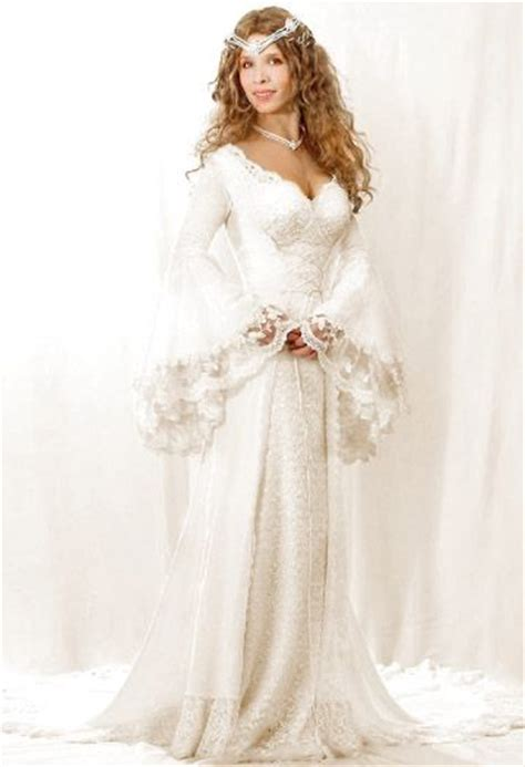 Pagan Style Wedding Dresses by Celtic Wedding Gowns And Storybook Wedding On