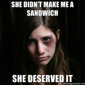 Make Me A Sandwich Meme - she reached up and lay her hand on my ch by patrick