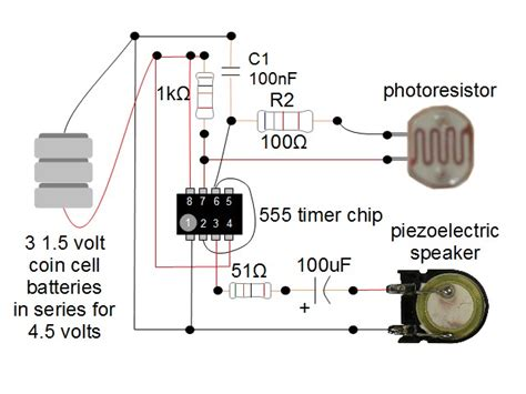 555 timer pull resistor potato chip macrochip with 555 timer circuit