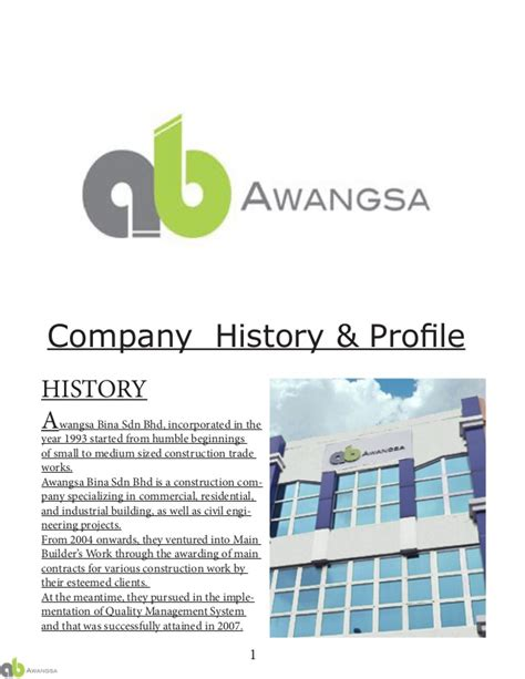 company profile design price in malaysia project 1b profession in construction industry building