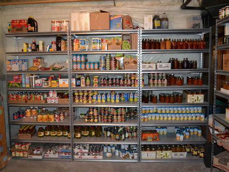 Food Pantry Requirements by Food Storage Guidelines For Your Pantry