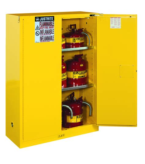 justrite 45 gallon safety cabinet flammable safety cabinet 45 gal yellow taraba home review