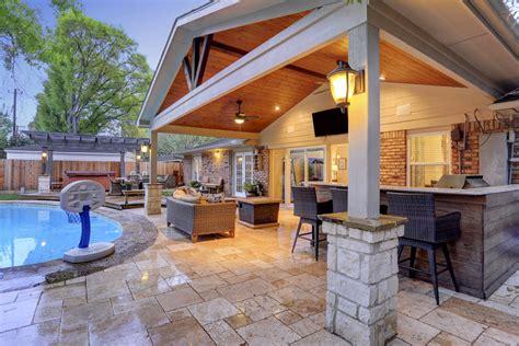 outdoor livingroom 2018 outdoor living room in walnut bend area houston custom patios