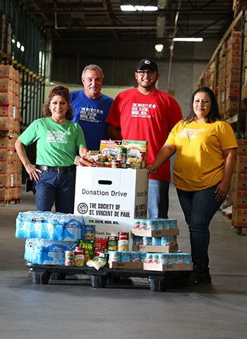 St Vincent Depaul Food Pantry by Become A Summer The Society Of St Vincent