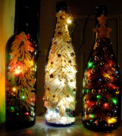 paint led christmas lights 10 painted wine bottles with how tos guide patterns