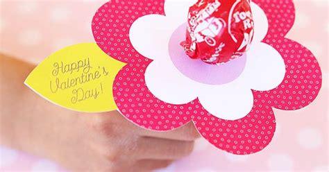 printable valentine flowers lollipop flower valentine printable printable