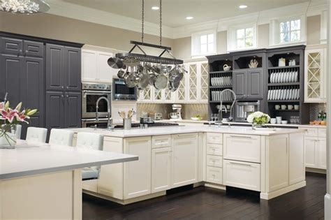Omega Kitchen Cabinets by The Black And White Contrast Makes This Kitchen