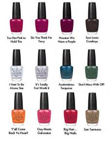 nail color names opi 2011 nail collection