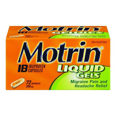 can you give a motrin motrin for management