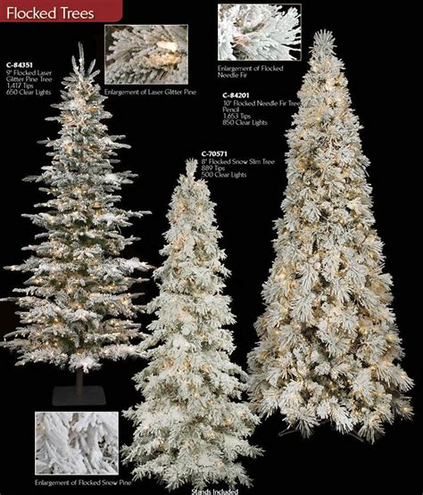 heavy flocked christmas tree clearance artificial flocked trees