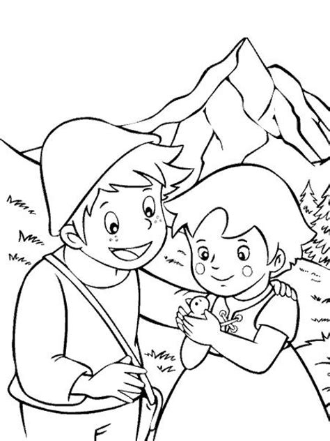 be my coloring pages coloring pages heidi picture 4