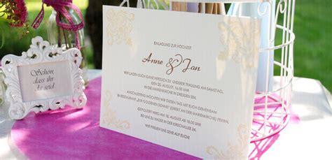 Einladung Hochzeit Wann by Einladungskarten F 252 R Die Hochzeit Ihre