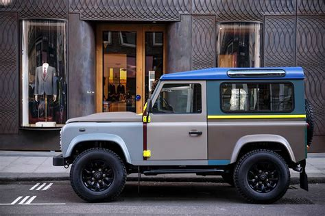 ranger defender brothers of company b books paul smith designs one land rover defender pursuitist