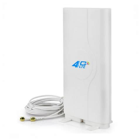Murah Penguat Wifi 4g Lte Mimo External Antenna Modem Router high gain 40dbi indoor 4g lte mimo antenna dual sma crc 9 ts 9 connectors