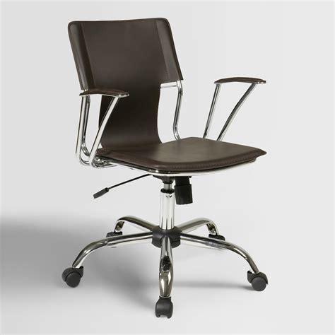 Espresso Desk Chair by Espresso Ethan Office Chair World Market
