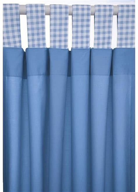 tab top curtains blue nursery curtains