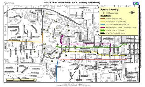 fsu cus map tallahassee and fsu departments offer tips for a safe enjoyable gameday experience