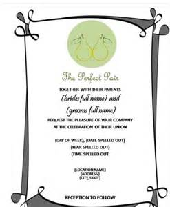 invitations templates word how to create wedding invitation in microsoft word 2007