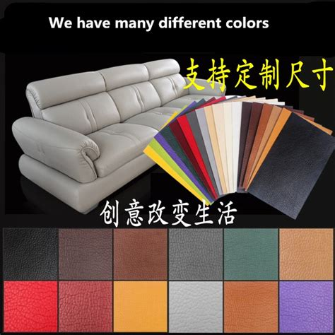 Stick On Patch Leather Sticker Stiker Kulit Green Alphabet leather patches for sofa repair sofa bed repair and get