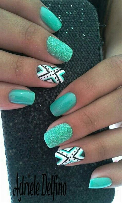aztec pattern nail art 23 sweet spring nail art ideas designs for 2018