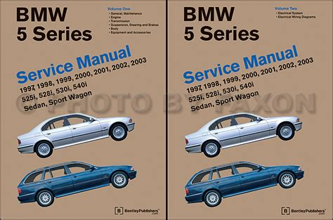automotive repair manual 2001 bmw 5 series on board diagnostic system 1997 2003 bmw 5 series bentley repair shop manual 2 volume set