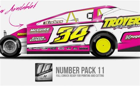 race car graphics design software professional advertising