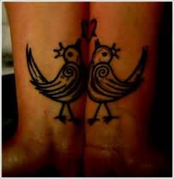 Unique tattoo designs for couples romantic love bird tattoo designs