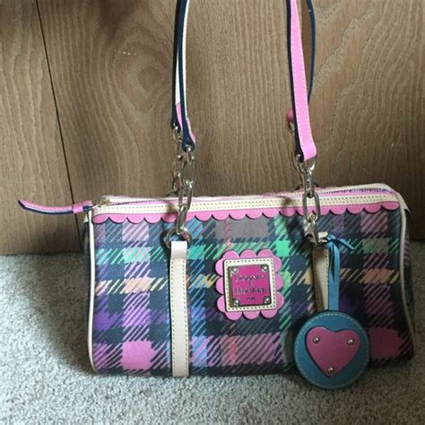 dooney and bourke colorful bag dooney bourke bags black and colorful plaid dooney