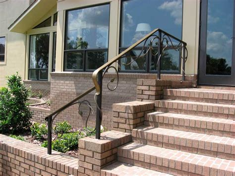 exterior banister stairs inspiring exterior handrails exterior handrails