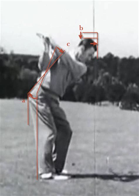 ben hogan swing down the line for the obtuse monte scheinblum com