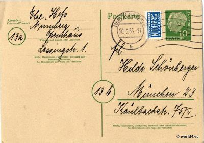 german cards templates german autograph postcard 1955 lost and found
