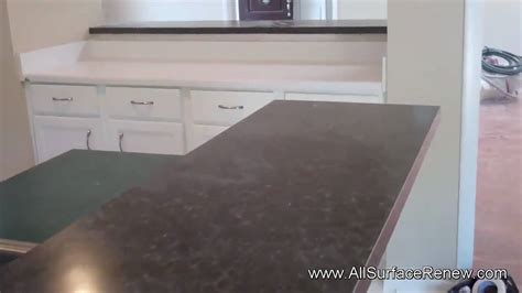 youtube corian repair transforming the color of old corian counters by