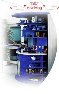 revolving circle compact kitchen idesignarch interior compact living bed solution tiny house ideas