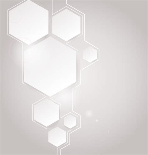Infographic Wall by Free Simple White Hexagon Abstract Vector Background Titanui