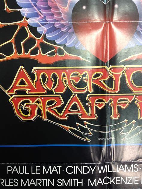 prints posters  american graffiti style