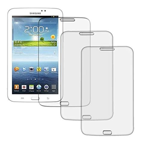 Samsung Tab 3 T215 etech collection 3 pack of clear screen protector for samsung galaxy tab 3 7 0 t211