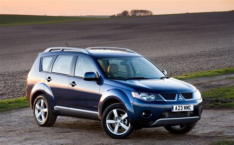 mitsubishi outlander 2007 price mitsubishi outlander estate 2007 2013 photos parkers