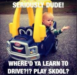 new car captions back to driving school with you car memes and funnies