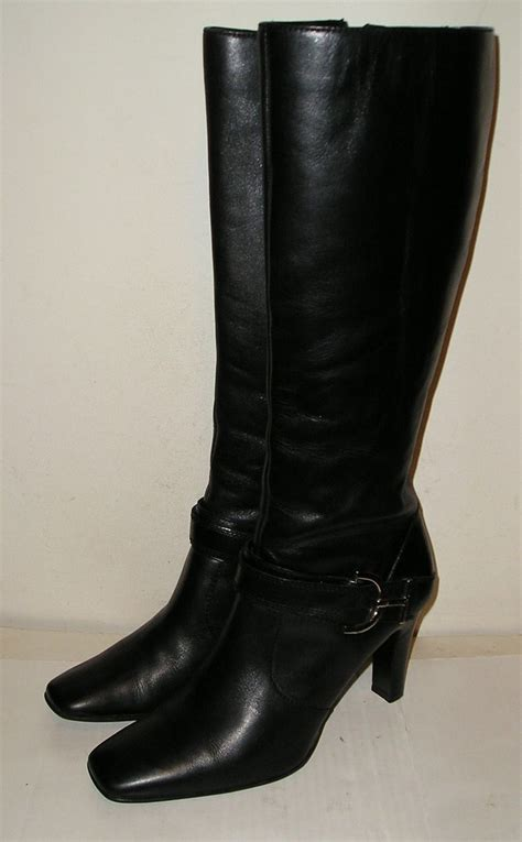 womens leather dress boots best gowns and dresses ideas