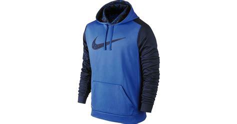 Original Hoodie Nike Ko Pullover Nike Royal Blue nike s ko wetland camo pullover hoodie in blue for lyst