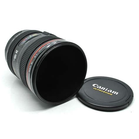 Gelas Minum Bentuk Lensa Kamera gelas minum bentuk lensa kamera black jakartanotebook