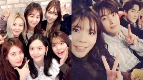 film suho exo dan yoona snsd girls generation leeteuk and suho show support for