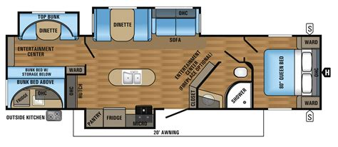 30 foot travel trailer floor plans 30 ft travel trailer floor plans 100 30 ft travel trailer