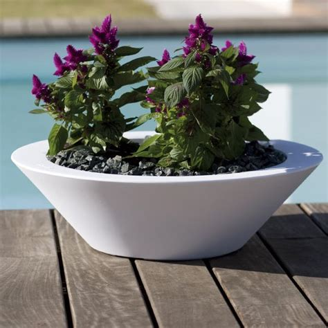 Large Outdoor Bowl Planters by Modern Bowl Large Outdoor Garden Planter Homeinfatuation