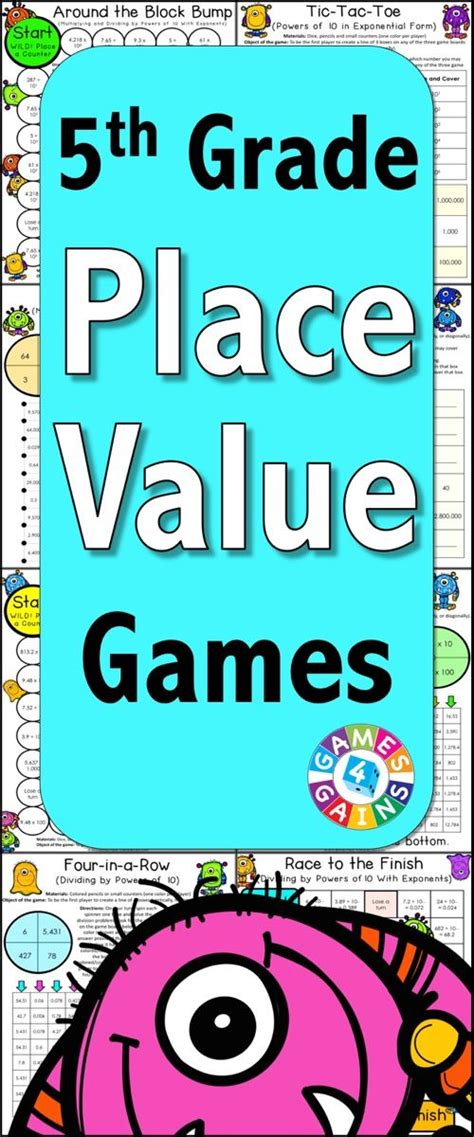 printable math board games 5th grade 25 best ideas about place value in maths on pinterest