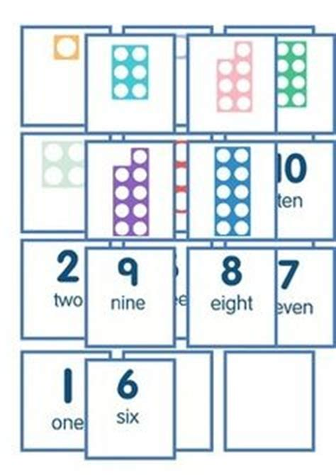 printable numicon number cards flashcard numbers and eyfs on pinterest