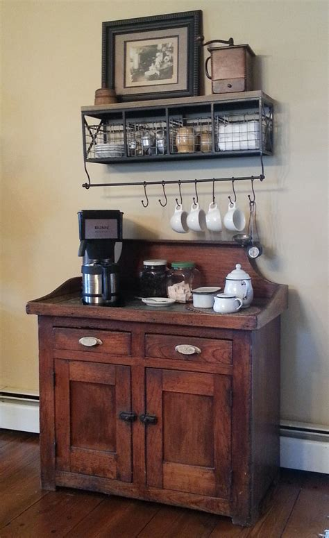 Coffee Bar Cabinet My After Version Of The Coffee Center Pinned By Another Talented Person I Freed Up Some