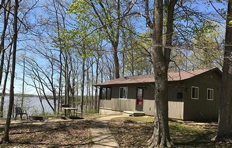 Cowan Lake State Park Cottages by Top Cabin Stays In Ohio Active