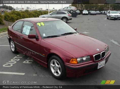 1998 bmw 318ti pearl 1998 bmw 3 series 318ti coupe black