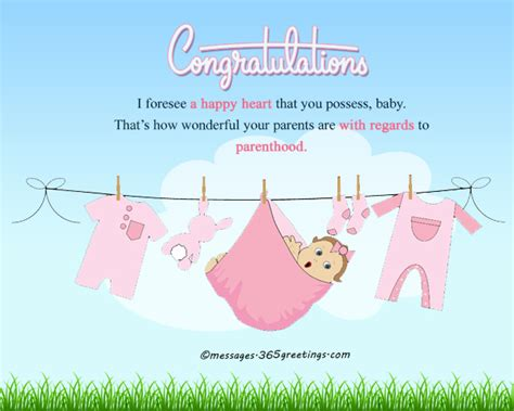 Baby Shower Wishes To Parents by New Born Baby Wishes And Newborn Baby Congratulation